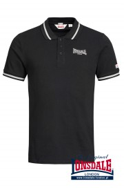 Koszulka Polo LONSDALE LONDON CAUSTON czarna