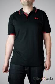 Koszulka Polo Lonsdale London Chineham Czarna