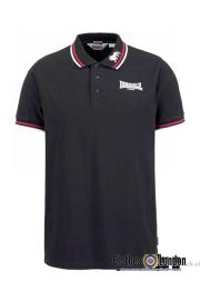 Koszulka Polo LONSDALE LONDON DALE HEAD czarna