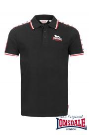 Koszulka Polo LONSDALE LONDON HUNSTANTON czarna
