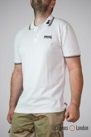 Koszulka Polo Lonsdale London Lion Biała