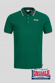 Koszulka polo LONSDALE LONDON LION Zielona