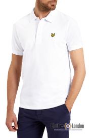 Koszulka Polo LYLE&SCOTT biała