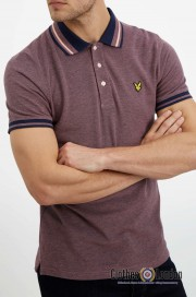 Koszulka polo LYLE & SCOTT TIPPED SHI Oxford