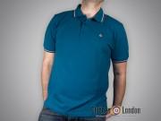 Koszulka Polo Merc London Card Niebieska