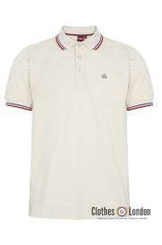 Koszulka Polo MERC LONDON CARD Cream