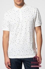 Koszulka Polo MERC LONDON DALMENY Biała
