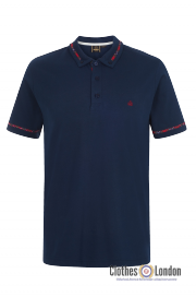 Koszulka Polo MERC LONDON RIDGE Granatowa