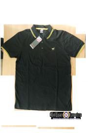 Koszulka POLO WARRIOR CLOTHING Czarno - zółta