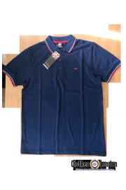 Koszulka POLO WARRIOR CLOTHING Granatowa