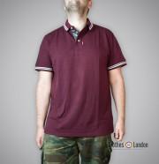 Koszulka Polo Warrior Clothing Mpire Bordowa