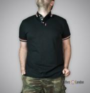 Koszulka Polo Warrior Clothing Mpire Czarna
