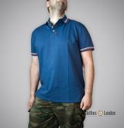 Koszulka Polo Warrior Clothing Mpire Niebieska