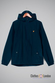 Kurtka LYLE & SCOTT HOODED JACKET granatowa