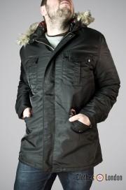 Kurtka zimowa Harrington N3B Czarna