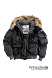 Kurtka ALPHA INDUSTRIES MOUNTAIN czarna