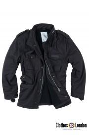 Zimowa kurtka w stylu M65 SURPLUS PARATROOPER czarna