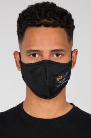 Maska ochronna ALPHA INDUSTRIES Crew Face Mask II Czarna