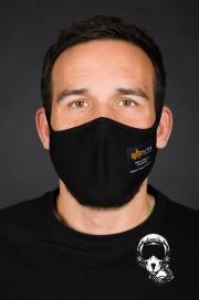 Maska ochronna ALPHA INDUSTRIES HEAVY CREW FACE Mask Czarna