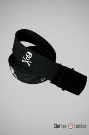 Pasek  materiałowy Totenkopf  Max Fuchs Basic Czarny
