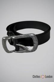 Pasek skórzany Max Fuchs Leather Czarny