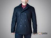 """Płaszcz """"Bosmanka"""" dwurzędowy Surplus PEA USN Coat Granatowy"""