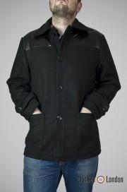 Płaszcz Donkey Jacket Pop Boutique Czarny