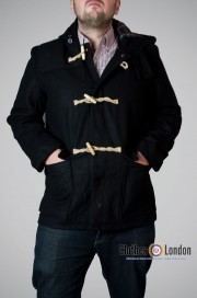 Płaszcz Duffle Coat Pop Boutique Czarny
