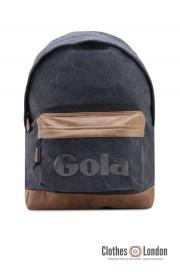 Plecak GOLA HARLOW CANVAS granatowo-brązowy