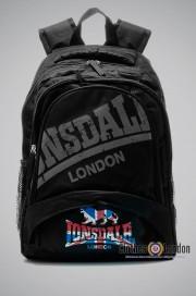 Plecak Lonsdale London BackBag Vintage Czarny