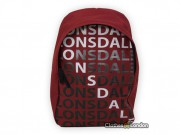 Plecak Lonsdale London Letters Bordowy