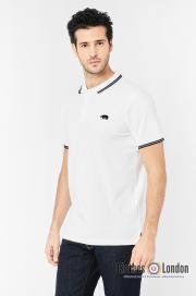 Koszulka polo HARRINGTON biała