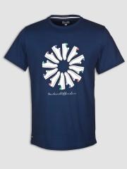 T- Shirt WEEKEND OFFENDER TRAINER WHEEL granatowy