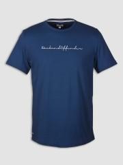 T- Shirt WEEKEND OFFENDER ADAM granatowy