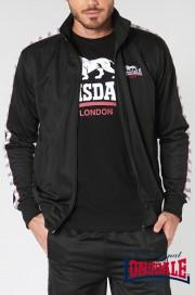Rozpinana bluza Track Top LONSDALE LONDON FYFIELD Czarna