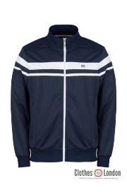 Rozpinana bluza TRACK TOP WEEKEND OFFENDER KETCHEL granatowa