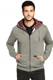 Rozpinana bluza z kapturem PICADILLY HARRINGTON szara