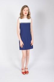 Sukienka POP BOUTIQUE SAILOR DRESS granatowa