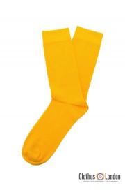 Żółte skarpetki RELCO LONDON