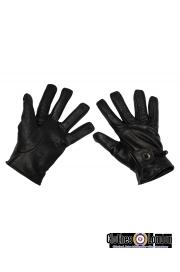 Skórzane rękawiczki WESTERN MAX FUCHS czarne (