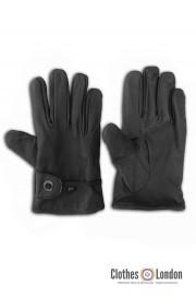 Skórzane rękawiczki WESTERN MAX FUCHS czarne