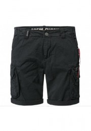 Szorty ALPHA INDUSTRIES CREW SHORT czarne