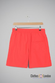 Szorty LYLE & SCOTT PLAIN SWIM SHORT jasno-czerwone