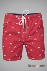 Szorty do pływania LE SHARK LEGION czerwone