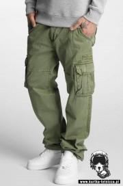 Spodnie bojówki ALPHA INDUSTRIES JET oliwkowe