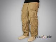 Spodnie bojówki Surplus Airbone Vintage Trousers Beżowe