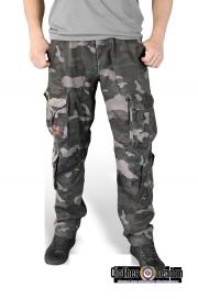 Spodnie bojówki SURPLUS AIRBORNE VINTAGE SLIMMY nightcamo