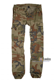 Spodnie joggery SURPLUS BAD BOY PANTS woodland