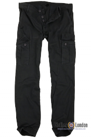 Spodnie joggery SURPLUS BAD BOY PANTS czarne
