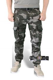 Spodnie bojówki SURPLUS PREMIUM SLIMMY blackcamo